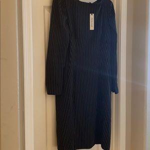 Pinstripe Business Dress